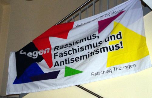 Transparent: antirassistischer und antifaschistischer Ratschlag Thüringen 2011